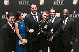 Jared Allen Wins Salute to Service Award