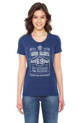 Jared Allen's Homes for Wounded Warriors - Americana Supporter T shirt
