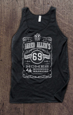 Jared Allen's Homes for Wounded Warriors - Americana Supporter Tank Top